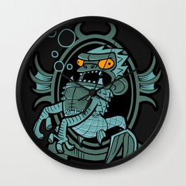 Fiji mermaid Wall Clock