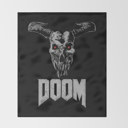Doom - Icon of Sin Throw Blanket