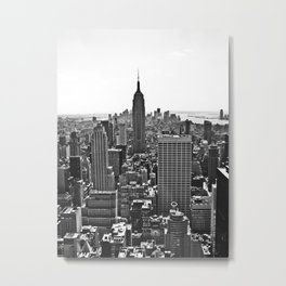 Empire State View / NYC  Metal Print