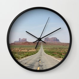 Monument Valley Veritcal Wall Clock