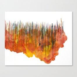 City #55: Vorotha Canvas Print