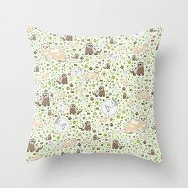 Ferret Magic Throw Pillow