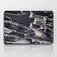 swim iPad Cases featuring Swim by Marte Stromme