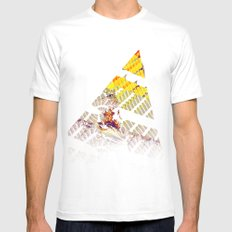 cake by the ocean MEDIUM White Mens Fitted Tee