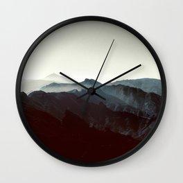 Montañas de Anaga Wall Clock