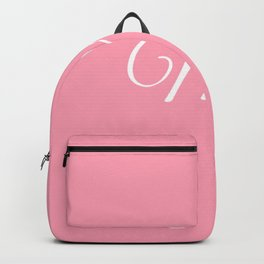 Mrs (Pink) Backpack