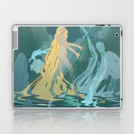 Nymph of the river Laptop & iPad Skin