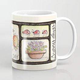 sunshine and ladybugs Coffee Mug