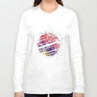 death star Long Sleeve T-shirts featuring Star . Wars Death Star by Carma Zoe