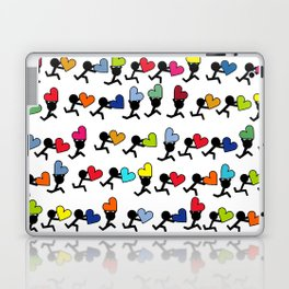 Love in color by Oliver Henggeler Laptop & iPad Skin