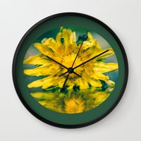 justice Wall Clocks featuring Poetic justice? by Dora Birgis