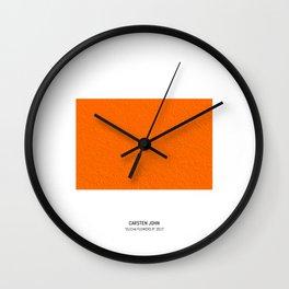 CLICHA FLOWERS II Wall Clock