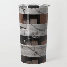 Untitled Planks with Barbs Travel Mug