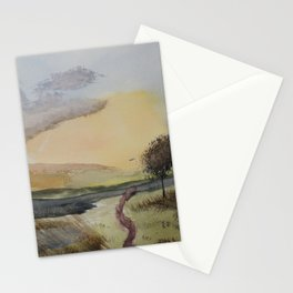 Path to tree Stationery Cards