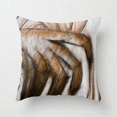 Pruning fingers Throw Pillow