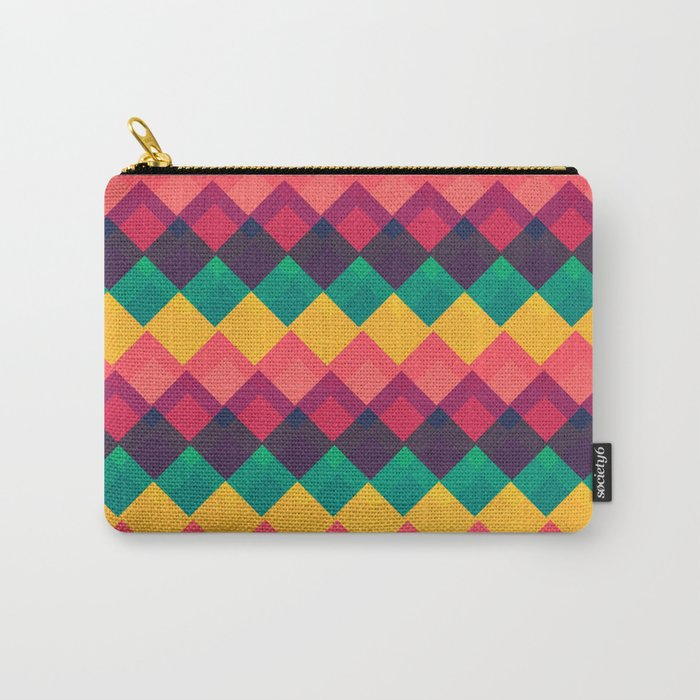 Happy Day Pattern Carry-All Pouch
