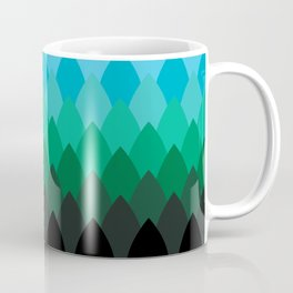 Forest Ombré Coffee Mug