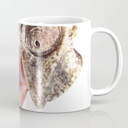 Chameleon with Happy Smiling Expression Vector Coffee Mug