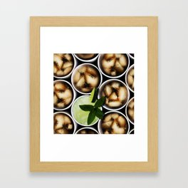 One Fancy Drink - One Mint Julep and Among Cola Framed Art Print