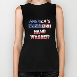 America's Greatest Hand Washer Biker Tank