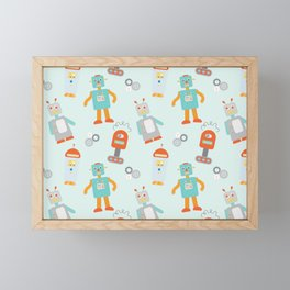 Mr. Roboto Framed Mini Art Print