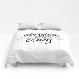 Figure Skating Obsession Comforters