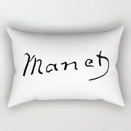 Edouard Manet's Signature Rectangular Pillow