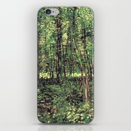 Trees and Undergrowth iPhone Skin