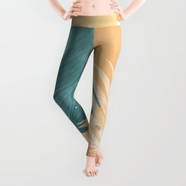 Abstract Tropical Art XII Leggings