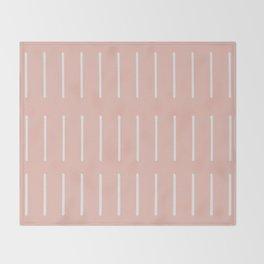 Organic / Blush Throw Blanket