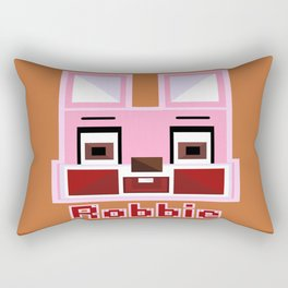 Block Robbie Rectangular Pillow