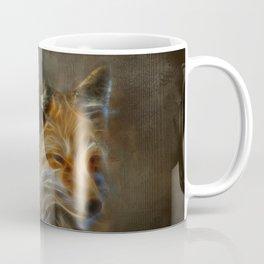 Abstract fox portrait Coffee Mug