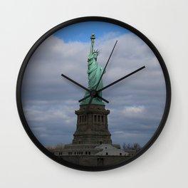 Statue of Liberty NYC Wall Clock