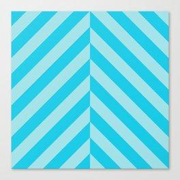 Blue Vektor Canvas Print