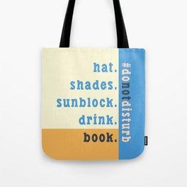 Summer #donotdisturb Tote Bag