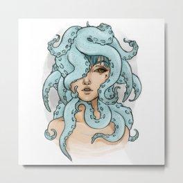 octopus mess Metal Print