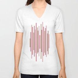 Lines Unisex V-Neck