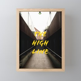 The High Line Framed Mini Art Print