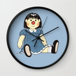 I Still Have My Molly Doll - The Big Comfy Couch Wall Clock
