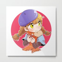 Mako - autumn Metal Print