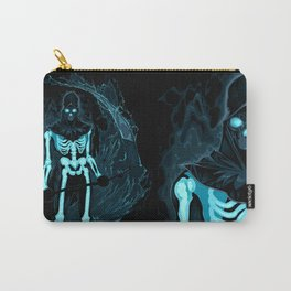 Demon with a scythe in the fire Carry-All Pouch