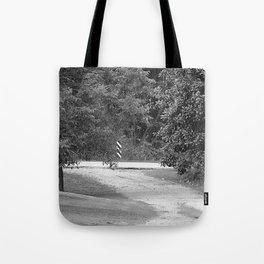 down the driveway Tote Bag