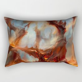 Bloodstained Mire Rectangular Pillow
