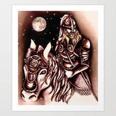 Eorlingas Art Print