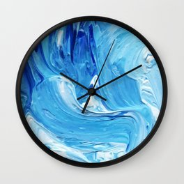 Lapeda Textile Art - 13 Wall Clock