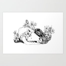 My Regrets Follow You to the Grave Art Print