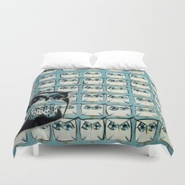 Sea of owls Duvet Cover