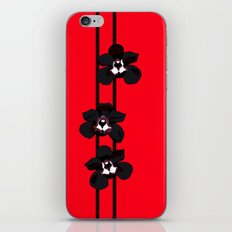 Black Orchids iPhone & iPod Skin