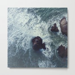 ocean_waves Metal Print