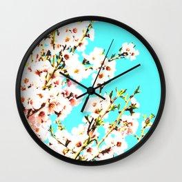 Sakura VII Wall Clock